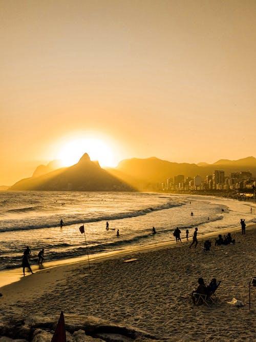 Gratis arkivbilde med brasil, bukt, daggry, deus