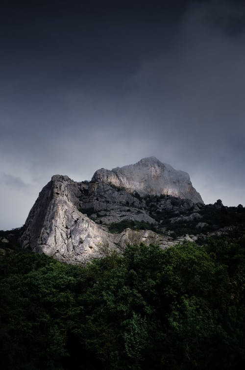 Free stock photo of cliff, clouds, crimea