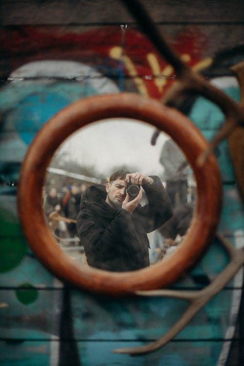거울, 걸레 박람회, 남성, 남자의 무료 스톡 사진