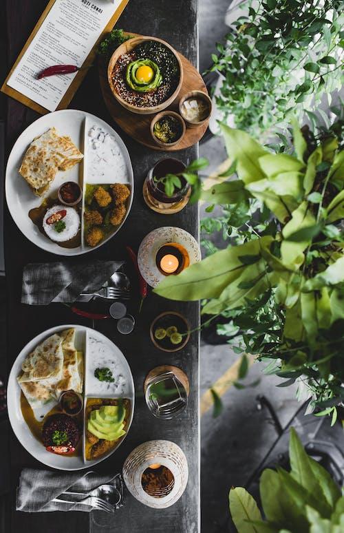 アジア料理, いろんな, インテリア, エキゾチックの無料の写真素材