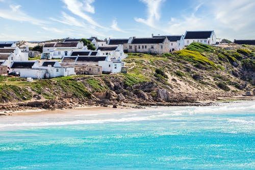 Photos gratuites de afrique du sud, architecture, arniston, baie