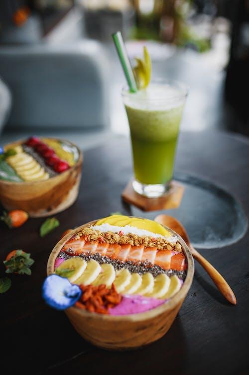 Бесплатное стоковое фото с антиоксидант, Аппетитный, банан, веганский