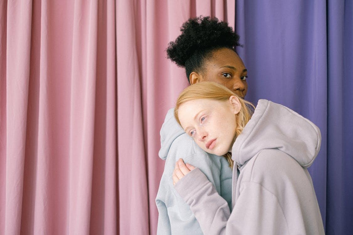 Multiethnic Lesbian Couple