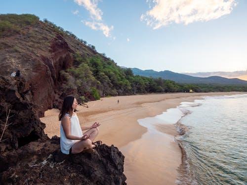 คลังภาพถ่ายฟรี ของ กลางแจ้ง, การท่องเที่ยว, คน, ชายหาด