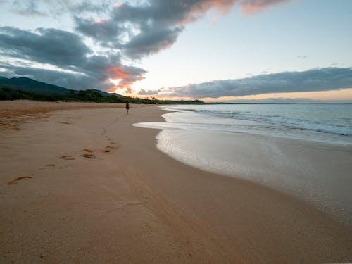 Бесплатное стоковое фото с вода, закат, лето, море