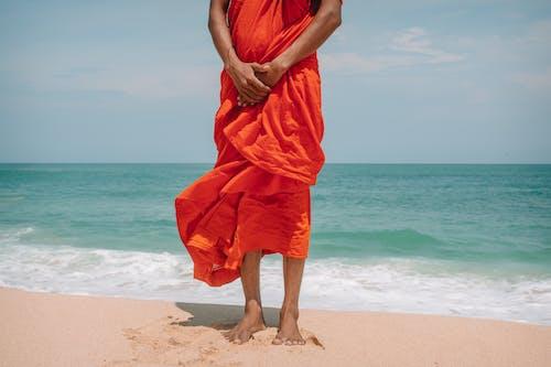 Δωρεάν στοκ φωτογραφιών με αγνώριστος, ακτή, ακτογραμμή, άμμος
