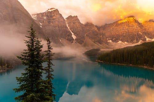Ilmainen kuvapankkikuva tunnisteilla 4k taustakuva, aamu, aamunkoitto, Alberta
