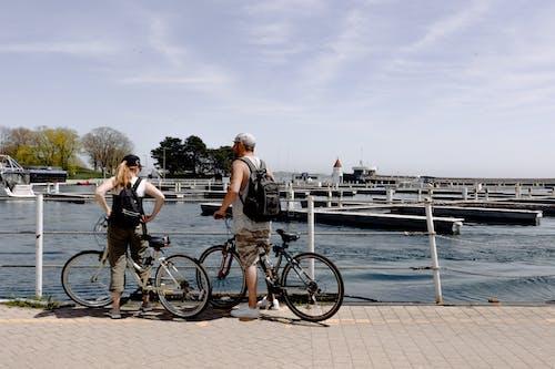 Бесплатное стоковое фото с активный отдых, велосипед, велосипедист, Взрослый