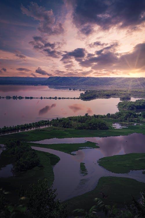 Základová fotografie zdarma na téma cestování, denní světlo, dřevo, jezero