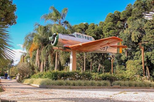 Fotobanka sbezplatnými fotkami na tému avia, avião de bojovať, avião de hélice, céu azul