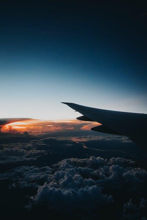 Fotos de stock gratuitas de a través de la ventana, a través del cristal, aerolínea