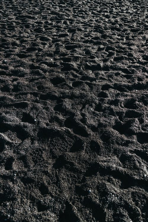 Brown Sand With Black Sand