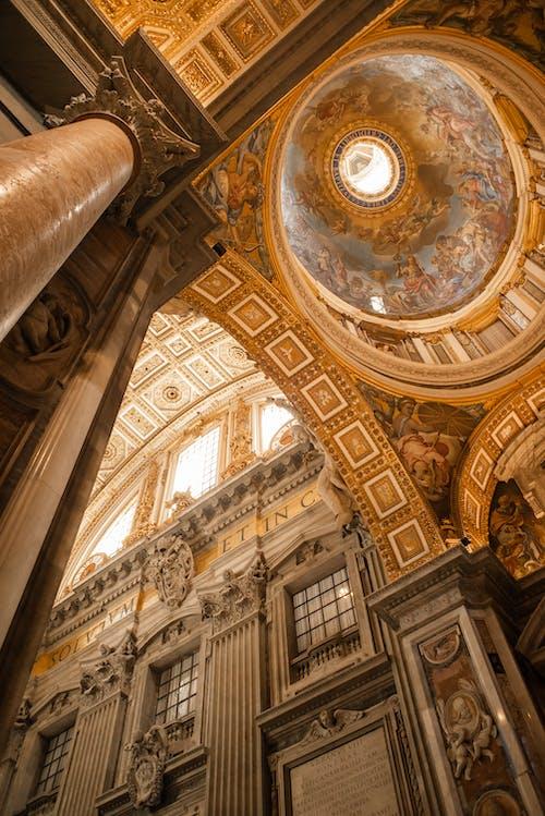 Stunning interior of Catholic cathedral