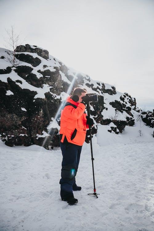 Kostenloses Stock Foto zu abenteuer, ausflug, ausrüstung, berg
