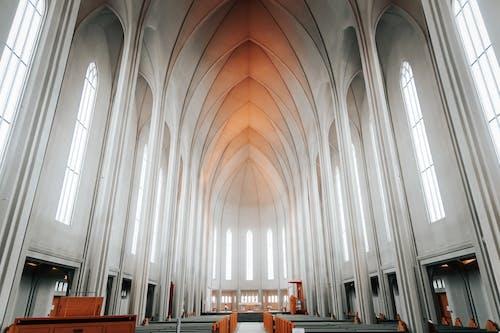 Бесплатное стоковое фото с аббатство, Арка, архитектура, в помещении