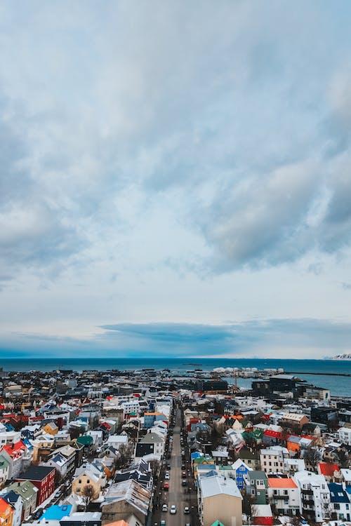 交通, 商業, 城市, 天際線 的 免費圖庫相片