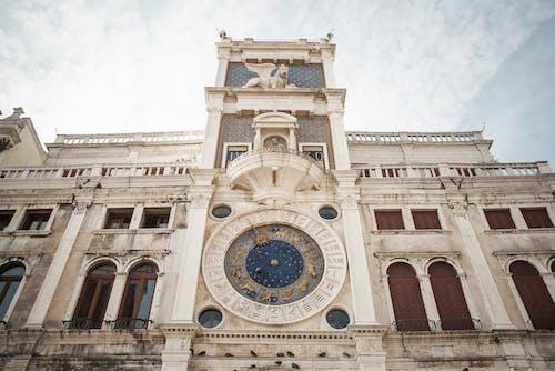 Historical St. Marks Clocktower in Venice