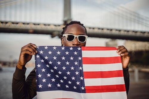 Gratis lagerfoto af afroamerikansk, afslappet, alvorlige, amerika