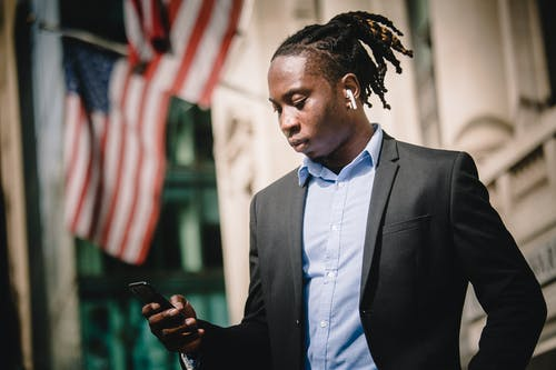 Бесплатное стоковое фото с Американский, афро-американец, беспроводной, бизнесмен