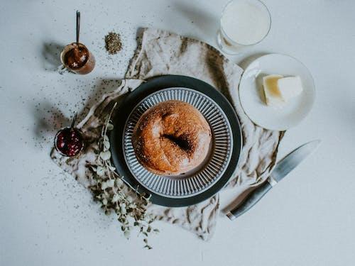 Бесплатное стоковое фото с горячий, еда, завтрак, кофе