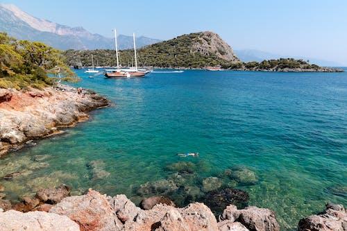Imagine de stoc gratuită din apă, barcă, călătorie, concediu