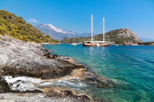Gratis lagerfoto af båd, bugt, hav, havudsigt