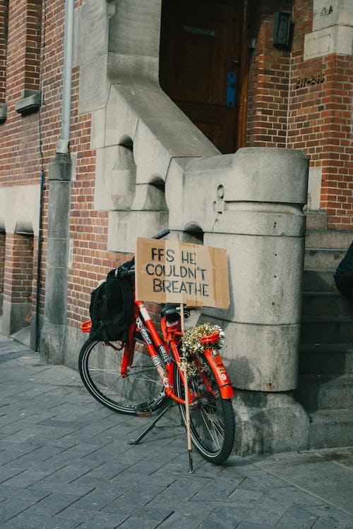 Immagine gratuita di amsterdam, attivismo, bicicletta, blm