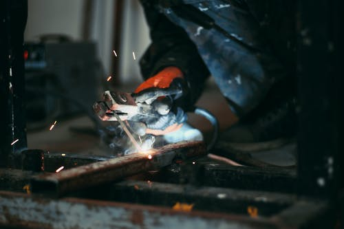 Free stock photo of action, adult, artisan, blacksmith