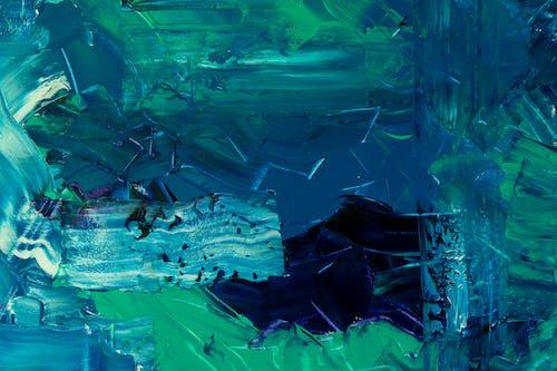 Бесплатное стоковое фото с Абстрактная живопись, абстрактный, Аквариум, акриловая краска