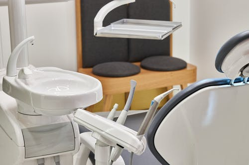 White and Gray Plastic Chairs