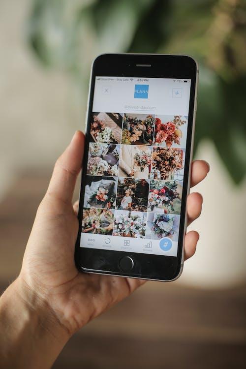 Kostenloses Stock Foto zu anwendung, app, digital, hand