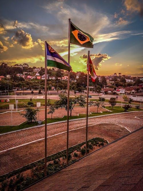 Fotobanka sbezplatnými fotkami na tému bandeira, bandeira nacional, bandeiras, Brazília