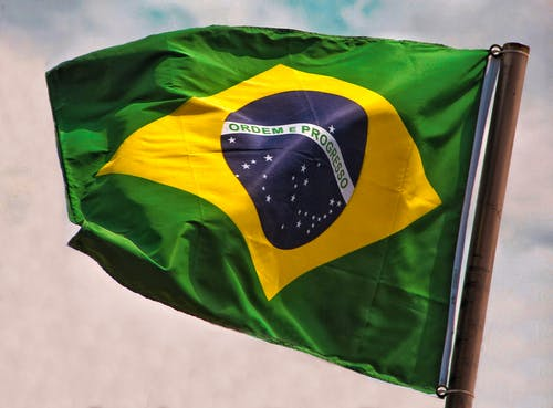Fotobanka sbezplatnými fotkami na tému balançando, bandeira, bandeira brasileira, bandeira nacional