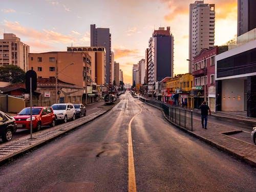 Fotobanka sbezplatnými fotkami na tému avenida, carros, Curitiba, estação de onibus