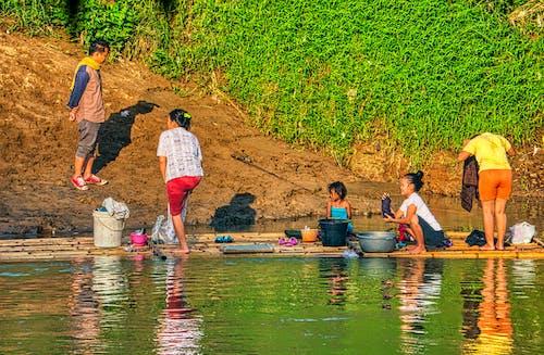 Ingyenes stockfotó árvíz, család, csapás, csoport témában