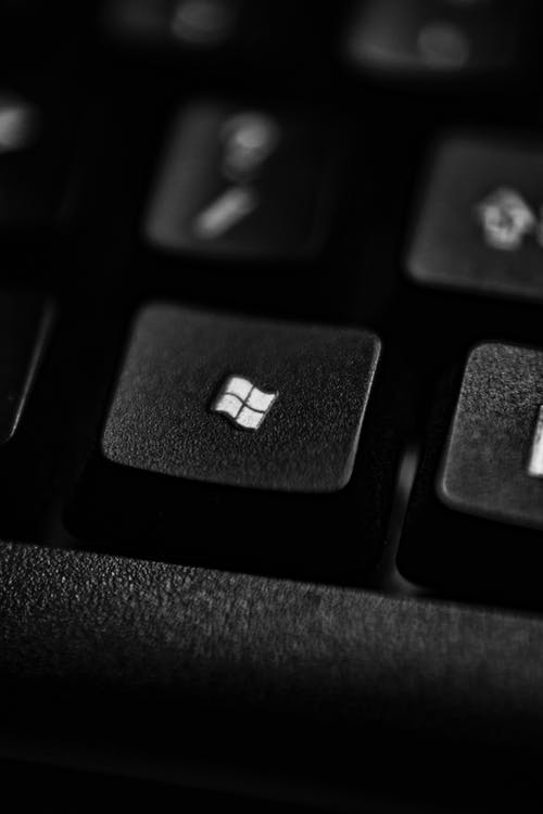 Close Up of a Keyboard