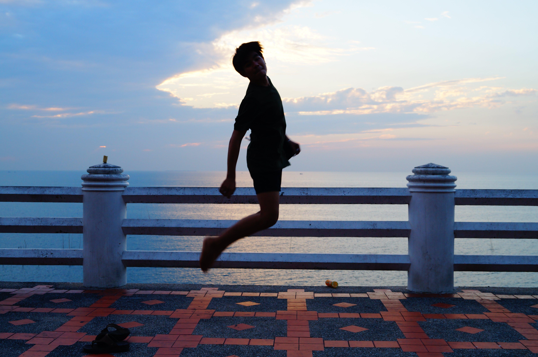 Free stock photo of jump