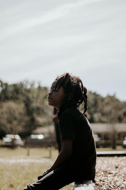 Základová fotografie zdarma na téma blm, černá, černé dítě, černý kluk