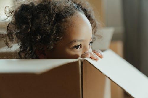 Fotos de stock gratuitas de afroamericano, caja, caja de cartón