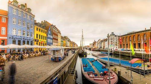 丹麥, 全景, 和平的, 哥本哈根 的 免费素材图片