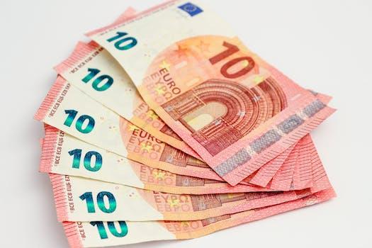 Free stock photo of money, finance, bills, cash