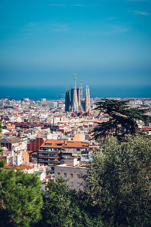 Cityscape of Barcelona Spain
