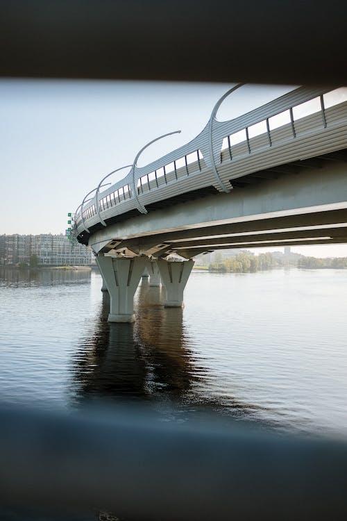 White Bridge over the Water