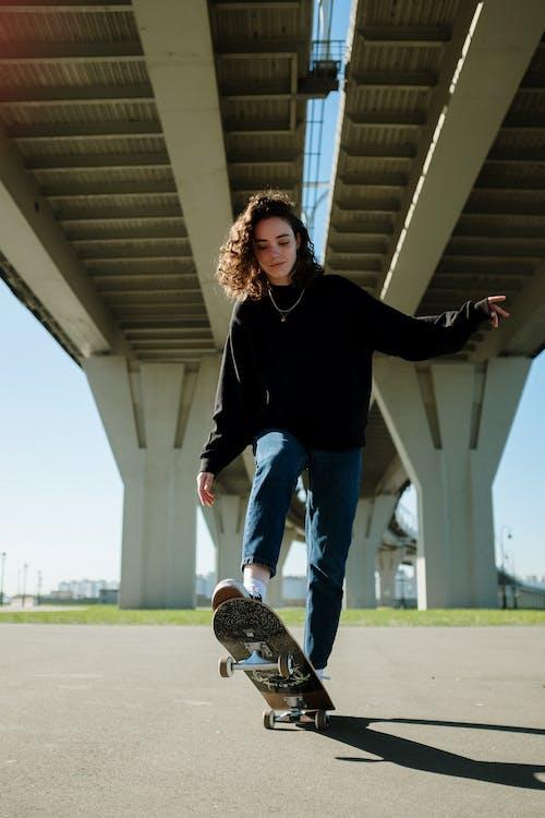 Gratis lagerfoto af aktiv, aktivitet, blå jeans