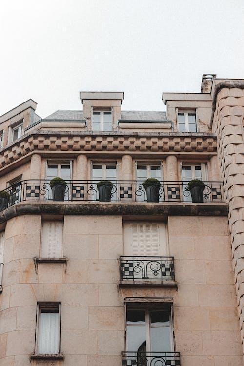 Imagine de stoc gratuită din acoperiș, apartament, arc