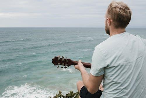 Photos gratuites de acoustique, anonyme, blond, chanson