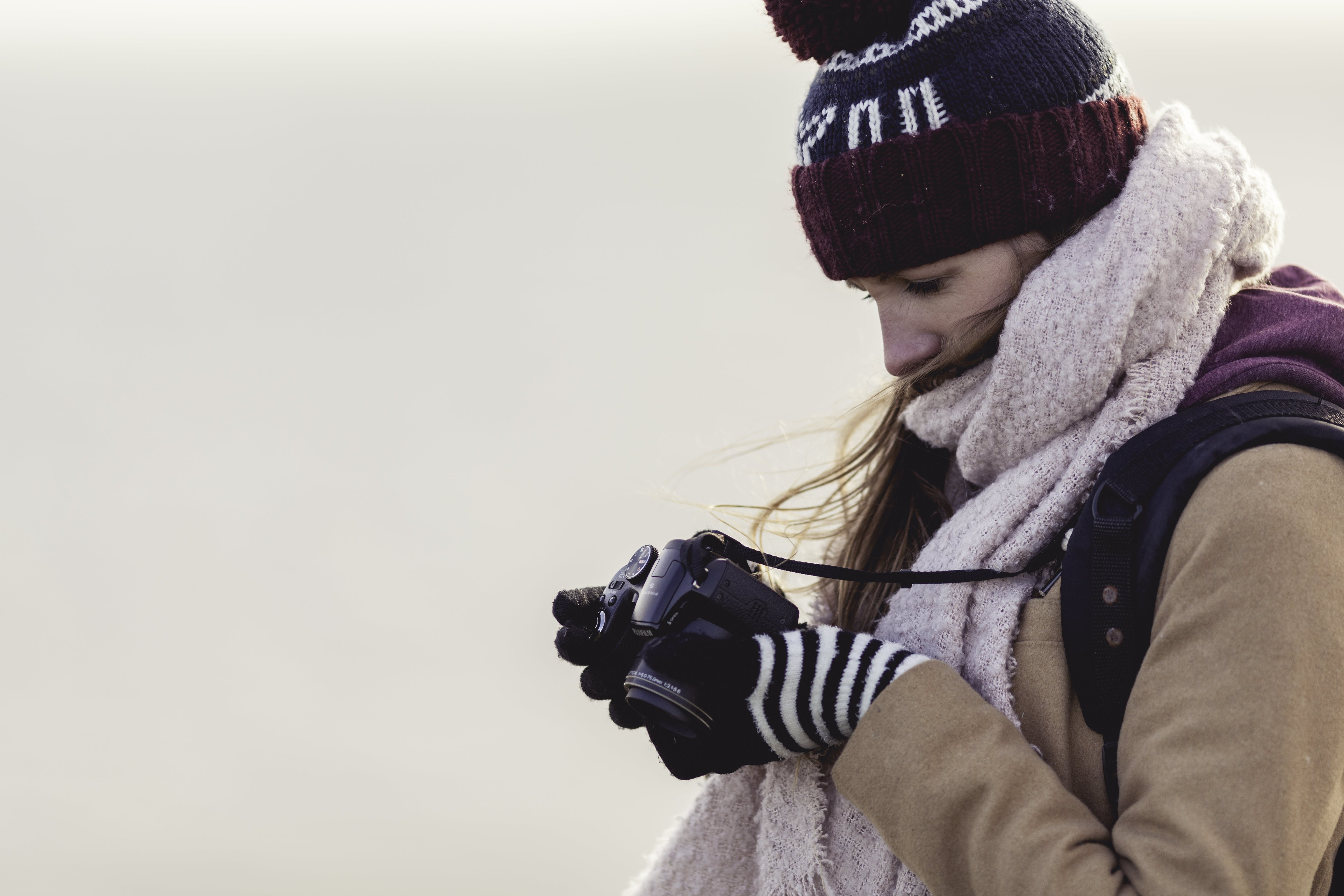 camera, fashion, girl