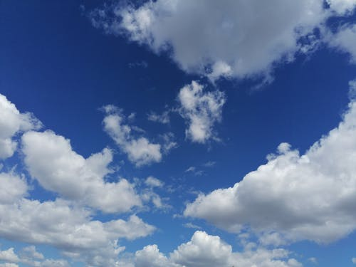 Free stock photo of above clouds, blue sky, cloud, clouds formation