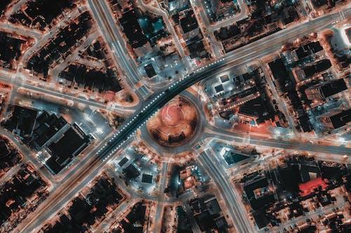 Foto profissional grátis de aéreo, altura, antena, área