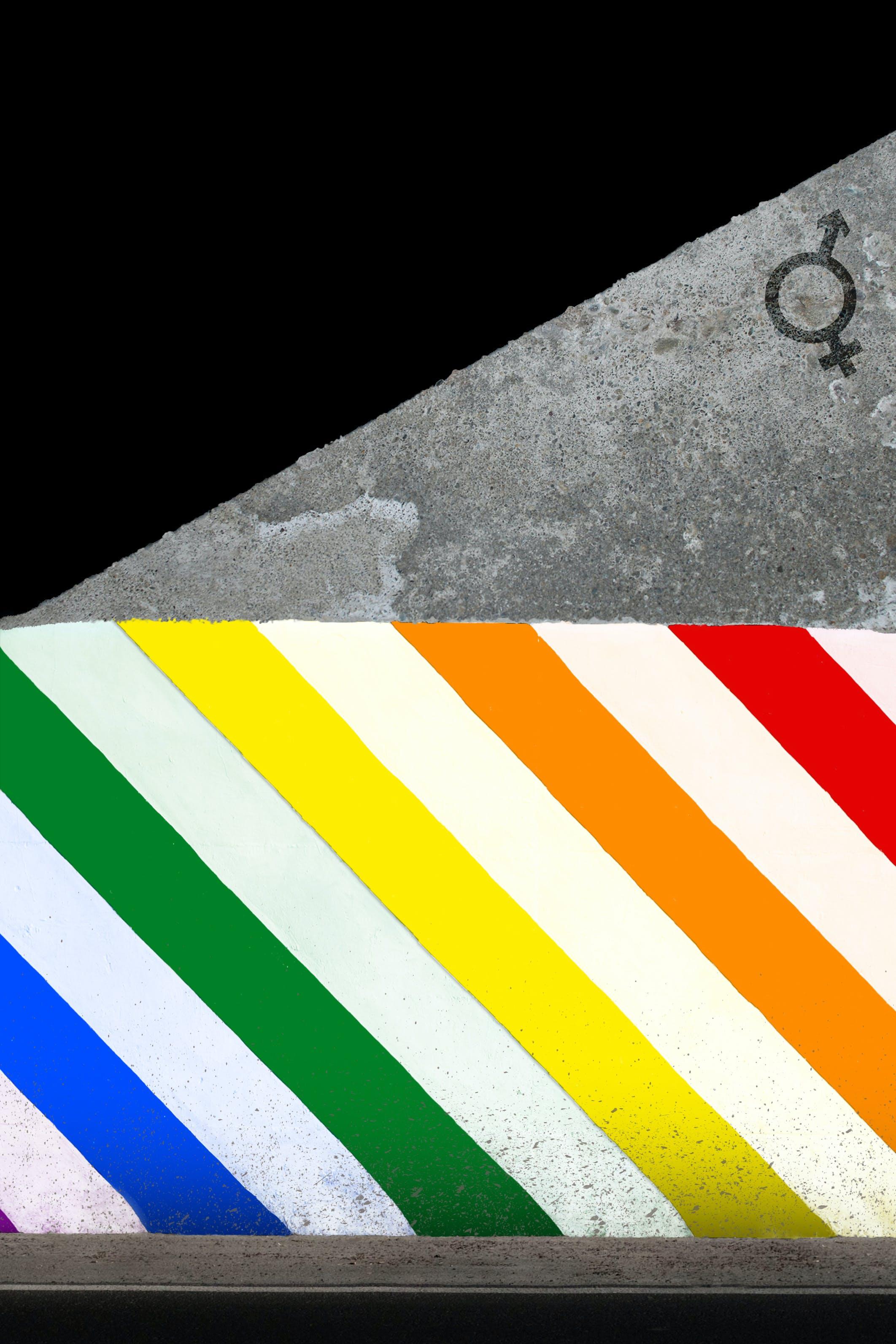 Gratis lagerfoto af abstrakt foto, appelsin, baggrunde, beton